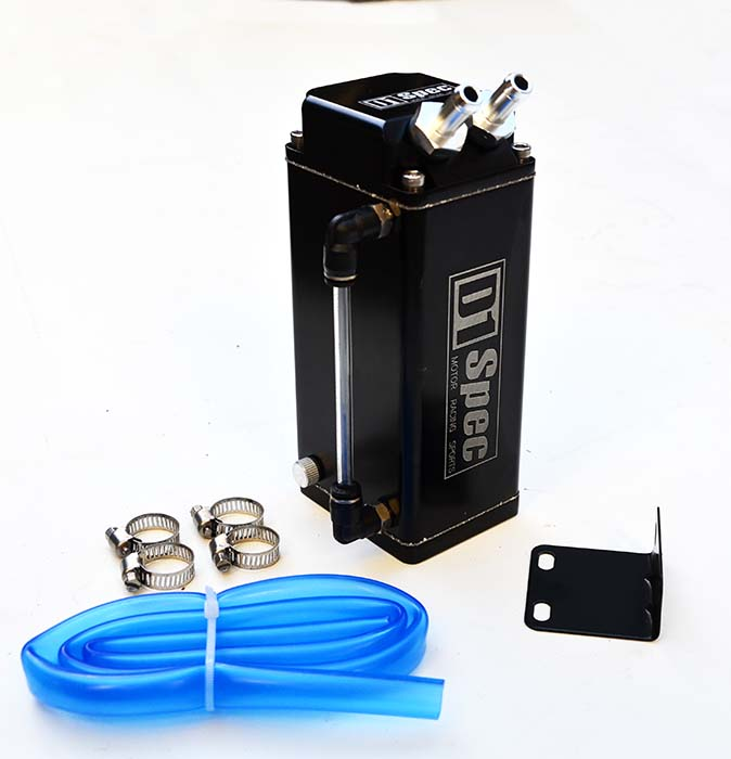 D1 Oil Catch Can 600cc black