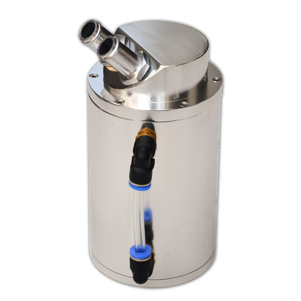 Oil Catch Can Round Magic Racing (silver)