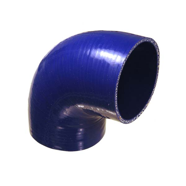 DPR silicone 90 degree reducing bend 2.50 – 2.75""