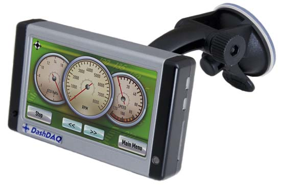 DashDaq monitor / multi-gauge / logger