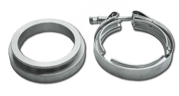V-band flange and clamp set (GT45 / T70)