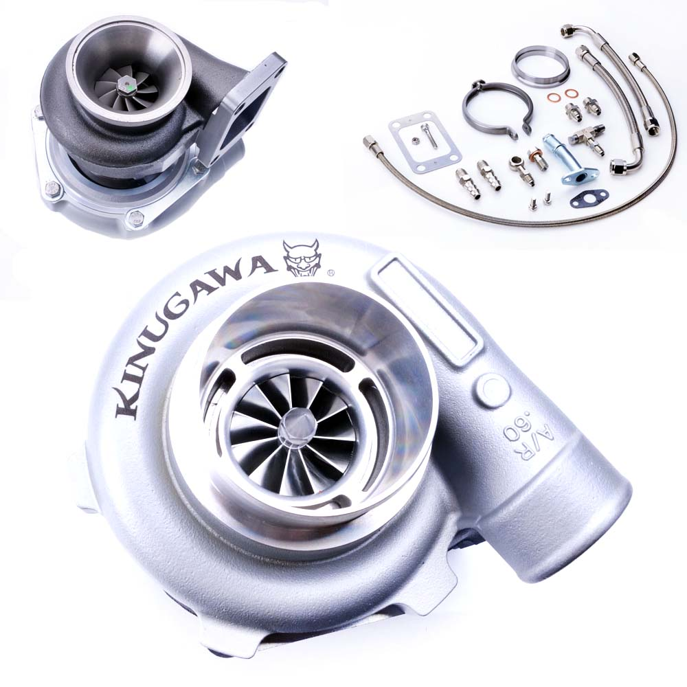 Kinugawa Japan GTX2860R Billet Ball Bearing turbo T3 Universal V-band
