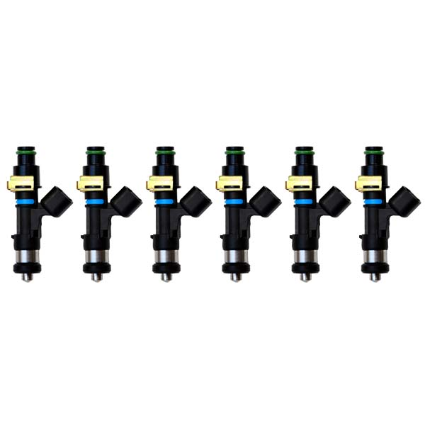 Bosch 750cc injectors set (6) high impedence