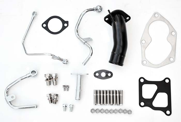 Turbo install kit EVO 4-9 TD05HR / TD06SL2R w/gaskets
