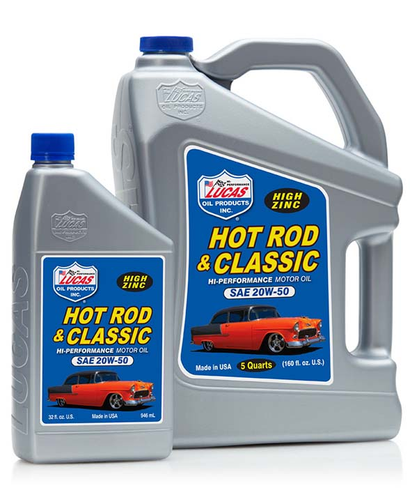 Lucas Hot Rod and Classic engine oil 4.7L