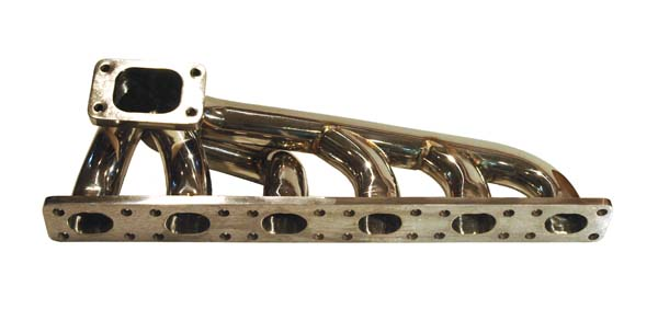 BMW E36 stainless steel top mount turbo manifold