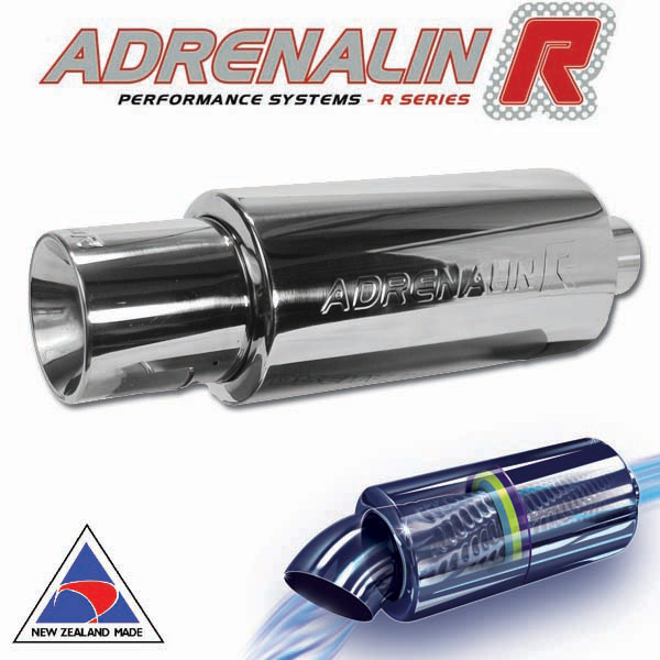 "Adrenalin-R muffler – Rolled- 76mm (3"")"