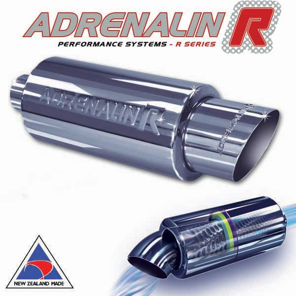 "Adrenalin-R muffler – Slash – 51mm (2"")"