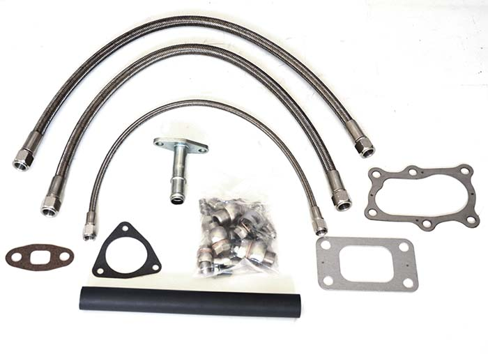 Turbo oil and water line kit Nissan RB25DET Kinugawa (FULL W GASKETS)