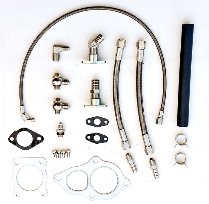 Turbo install kit EVO 1-3 TD05H / TD06SL2 w/gaskets