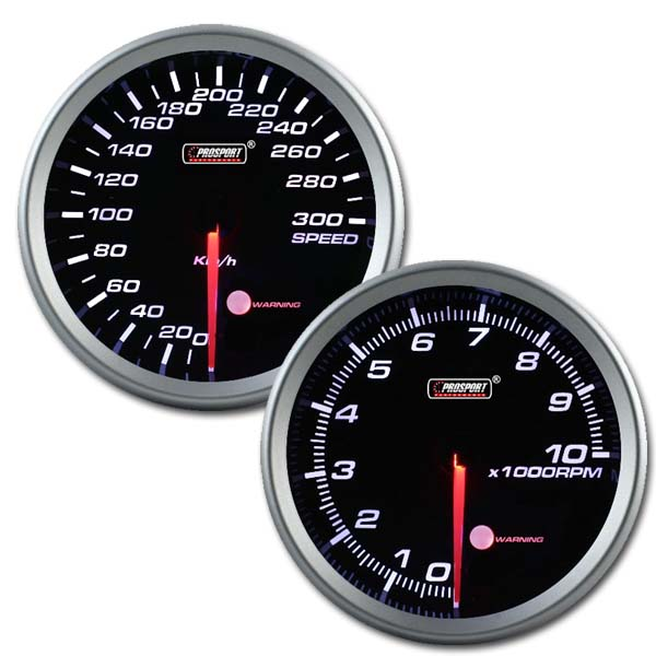 Prosport USA 80mm speedo + tacho dash set