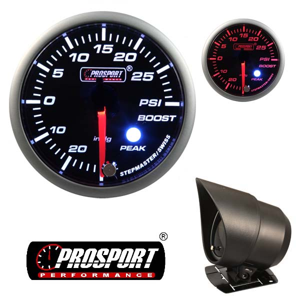 Prosport USA boost gauge – Premium Peak Warn