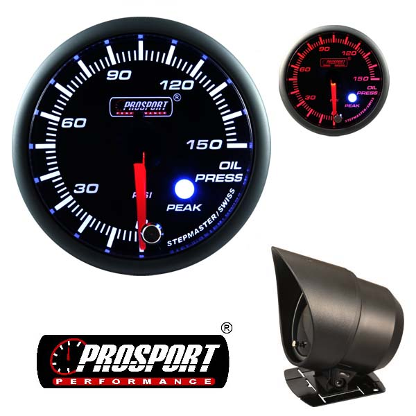 Prosport USA oil press. gauge – Premium Peak Warn