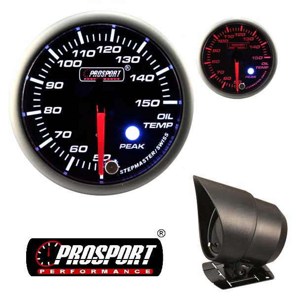 Prosport USA oil temp gauge – Premium Peak Warn