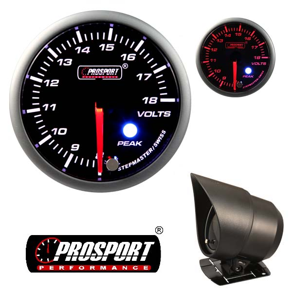 Prosport USA volts gauge – Premium Peak Warn
