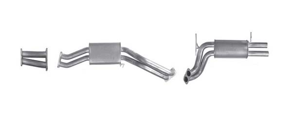 PACE MAKER exhaust system – Ford Falcon BA BF XR6 turbo
