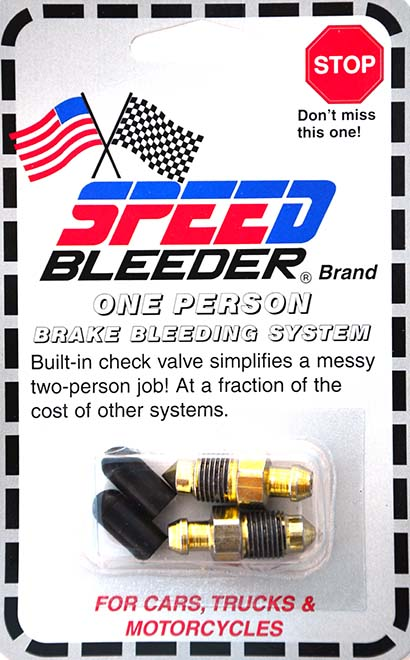 Speedbleeder 4pc set – high performance non-return brake nipples