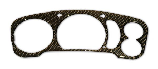 Speedo Cluster Overlay (real carbon) RX7 86-88