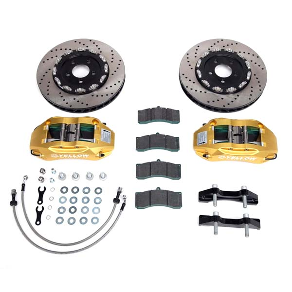 "Yellowspeed Brake Kit 345mm 6-pot (18"") Front"