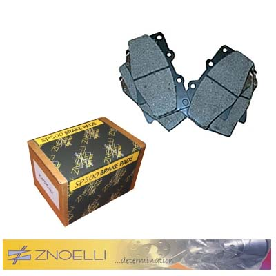 Znoelli SP500 fast road pads (rear)