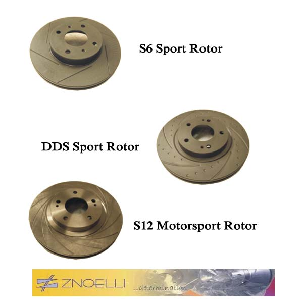 Znoelli s12 Motorsport brake rotor (heat treated)