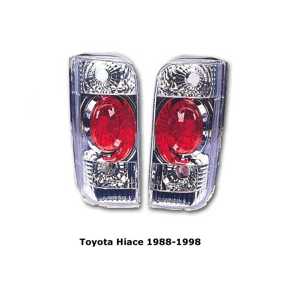 Altezza style clear tail lights Toyota Hiace 89-98