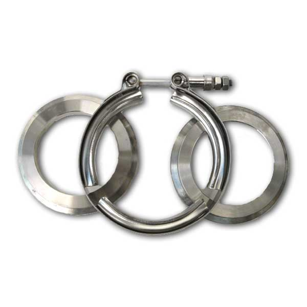 "V-band flange and clamp set (2.5"") T3/T4"