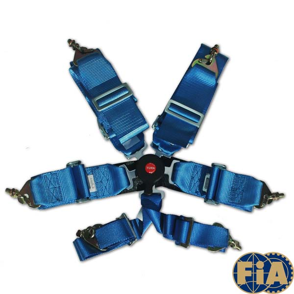 Prosport FIA certified 6 point camlok race harness
