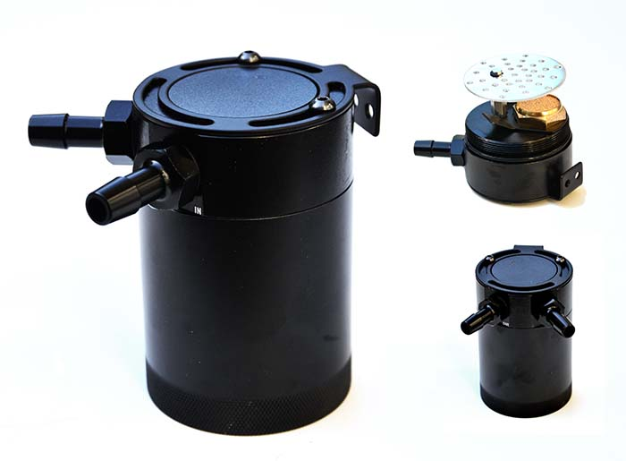 Baffled oil catch can – super compact