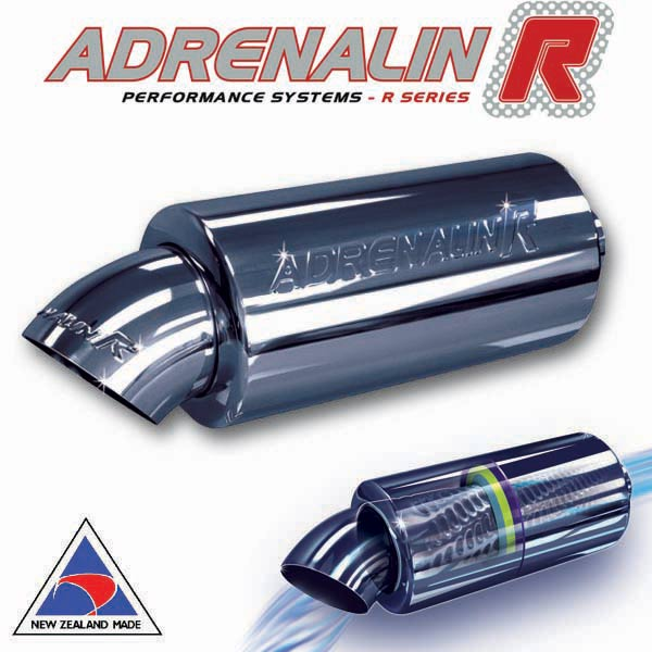 "Adrenalin-R muffler – Dump – 51mm (2"")"