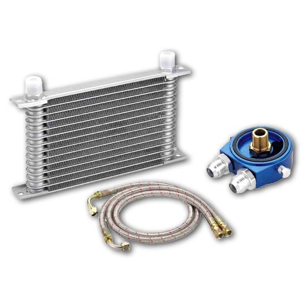 Oil cooler kit (Japanese Type 11 row, direct fit)